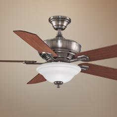 "52"" Fanimation Camhaven Pewter Finish Ceiling Fan"
