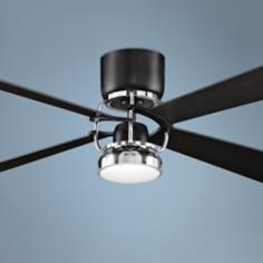 "Fanimation Camview 52"" Black Finish Ceiling Fan"