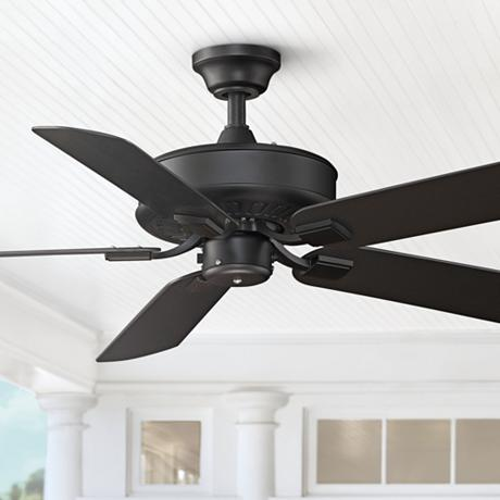 50 Quot Fanimation Edgewood Black All Weather Ceiling Fan