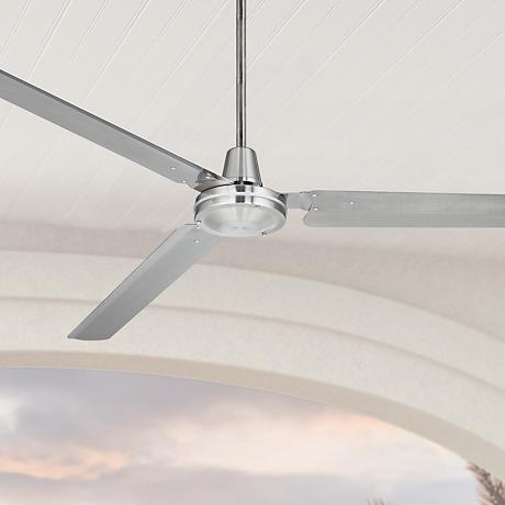 "72"" Casa Velocity Brushed Nickel Ceiling Fan"
