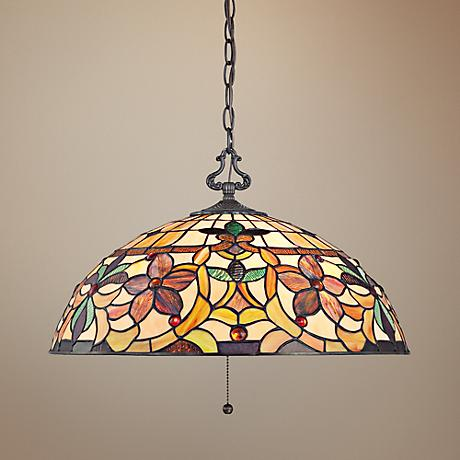 Quoizel Kami Art Glass Pendant Light