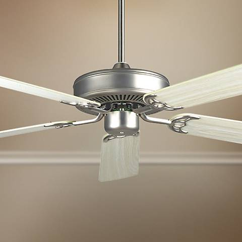 "52"" Concord California Home Satin Nickel Ceiling Fan"