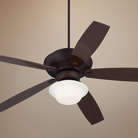 "70"" Casa Belle Grove™ Schoolhouse Bronze Ceiling Fan"