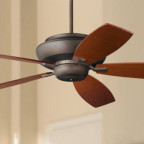 "60"" Casa Belle Grove™ Cherry Blades Bronze Ceiling Fan"