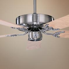 "52"" Concord California Home Stainless Steel Ceiling Fan"