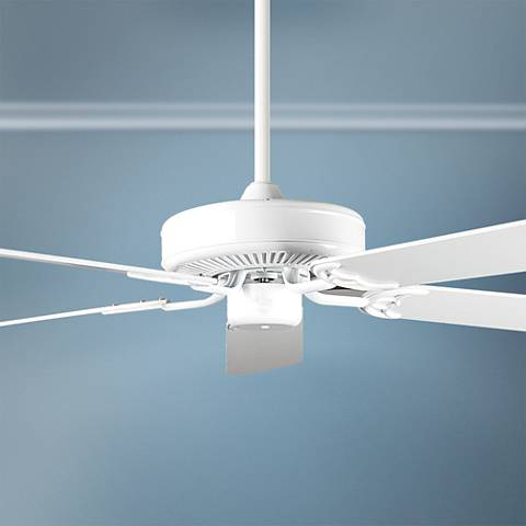 "52"" Concord California Home White Ceiling Fan"