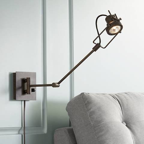 Lamps Plus Industrial Table Lamps