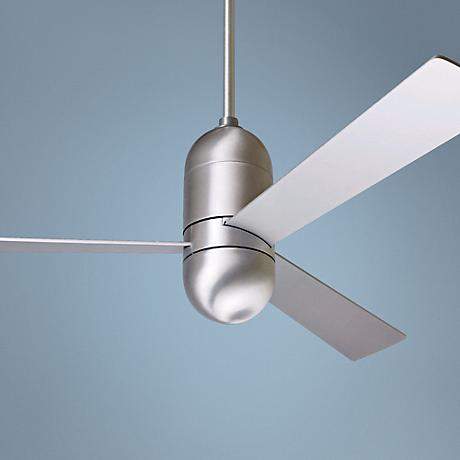 "52"" Modern Fan Cirrus Brushed Aluminum Ceiling Fan"