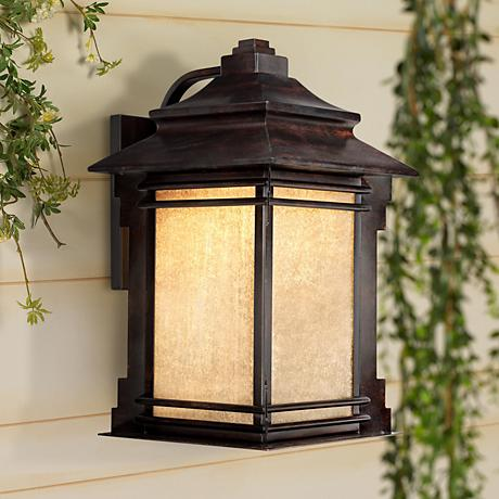 "Hickory Point 19"" High Outdoor LED Light"