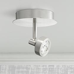 Pro-Track® Tilden 1-Light Brushed Steel LED Ceiling Light