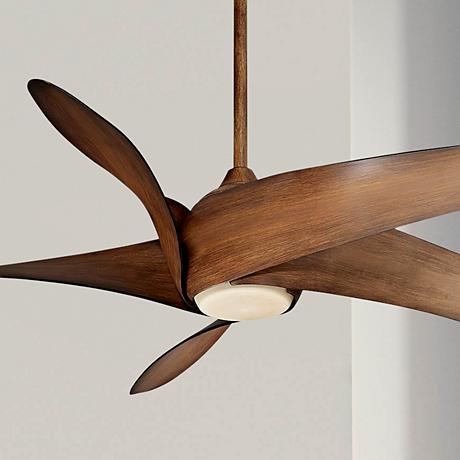 "62"" Artemis XL5 Distressed Koa Ceiling Fan"