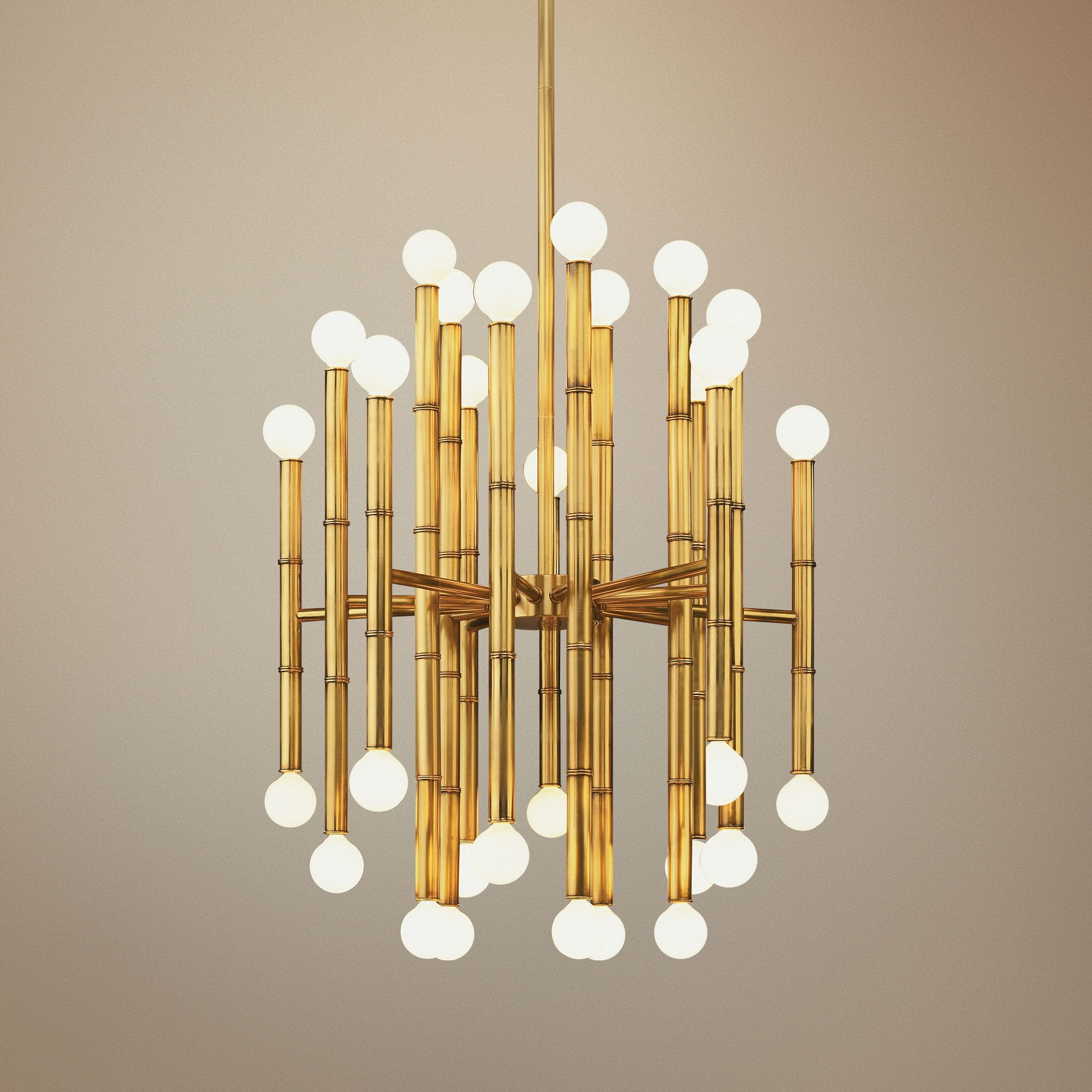 Jonathan Adler Meurice Collection 30-Light Brass Chandelier & Jonathan Adler Lighting Fixtures | Lamps Plus azcodes.com