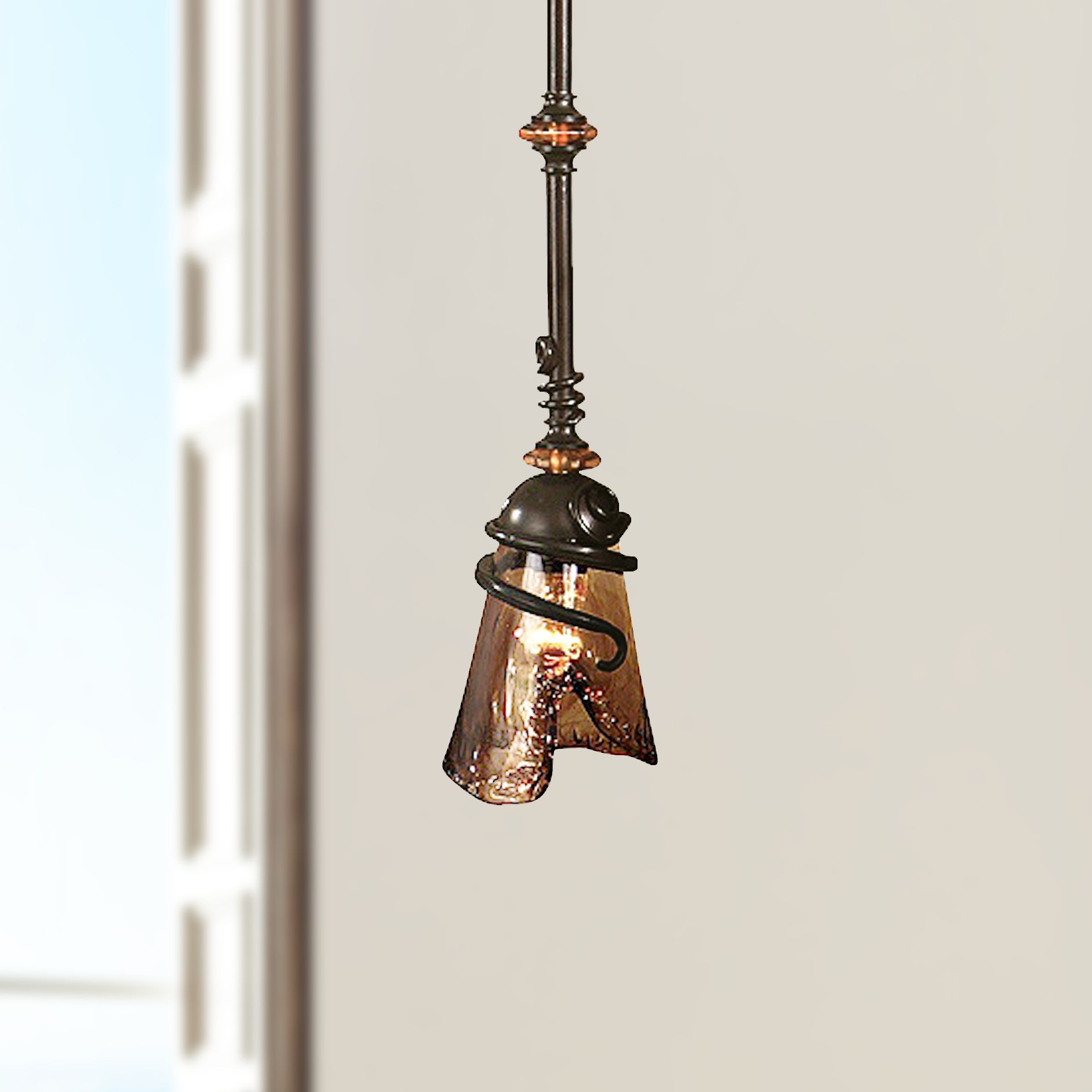 Uttermost Vitalia Collection 6  Wide Mini Pendant Chandelier & Uttermost Pendant Lighting | Lamps Plus azcodes.com