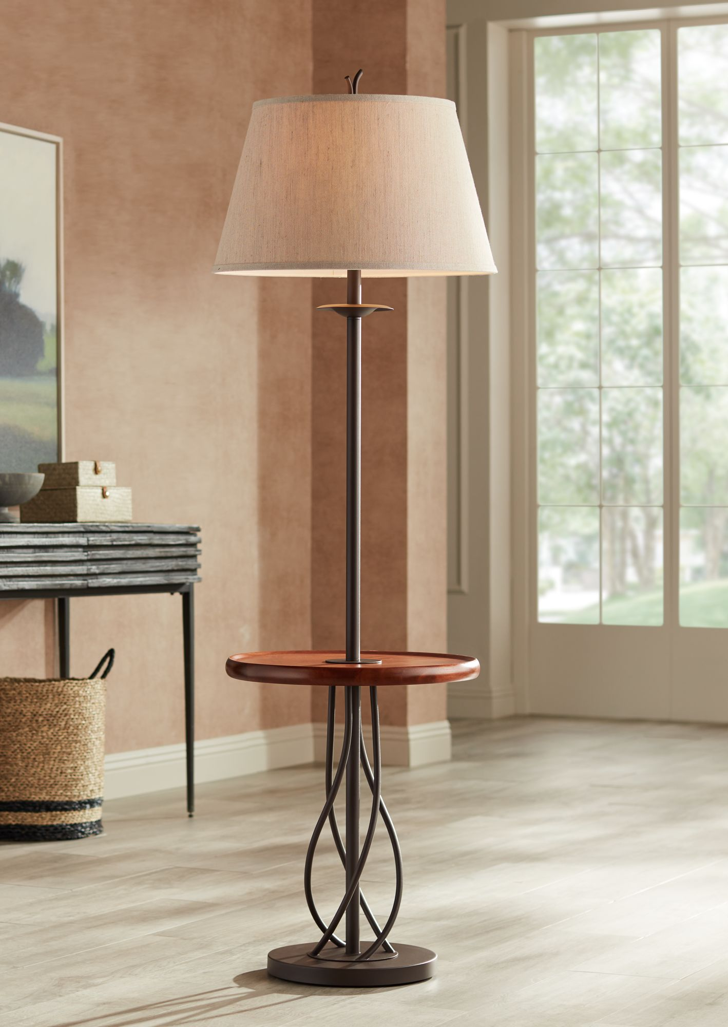 Floor Lamps With Tray Table | Lamps Plus