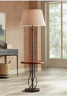 Brown Bronze Floor Lamps