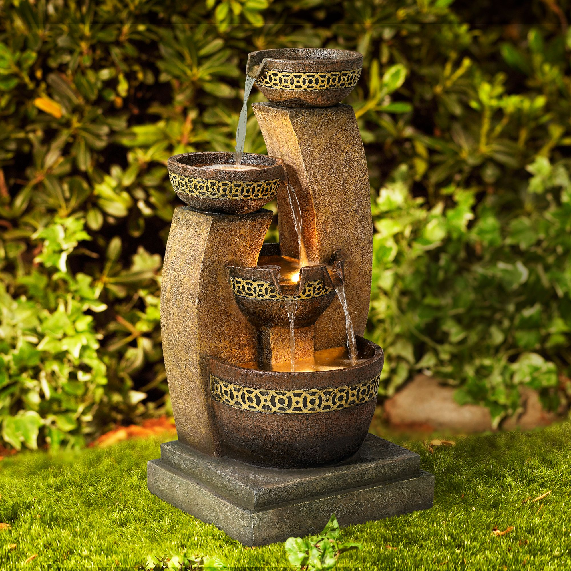 Outdoor Fountains - Patio & Garden Water Fountains | Lamps Plus