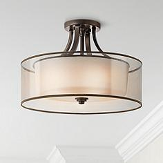semi flush mount lights - stylish ceiling light designs | lamps plus