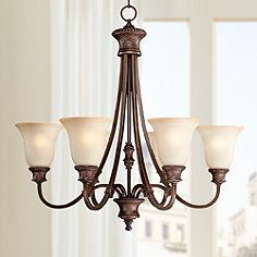 Capital lighting dining living room chandeliers lamps plus hill house collection 6 light 28 wide chandelier aloadofball Image collections