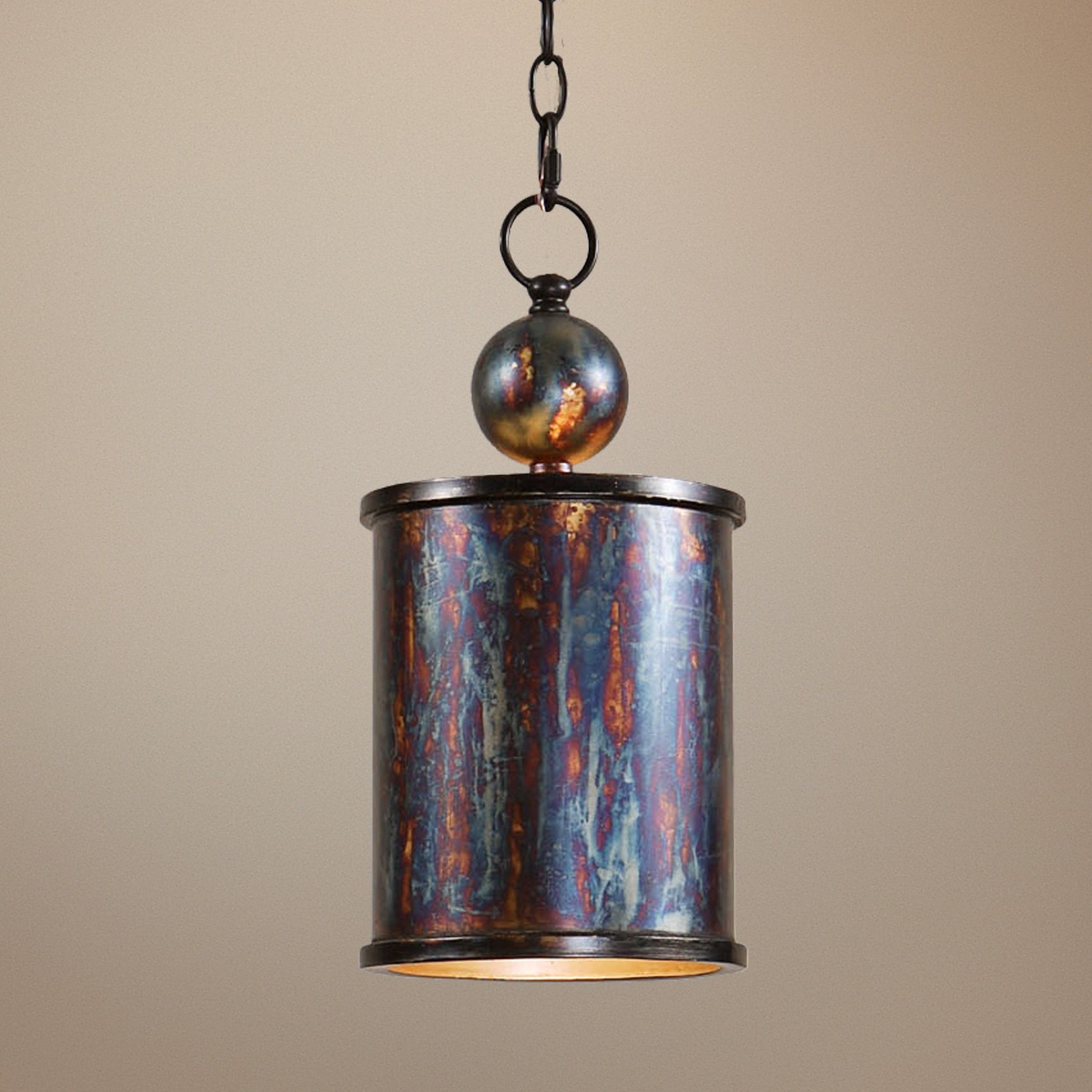 Uttermost Albiano Cylindrical 1-Light Mini Pendant & Uttermost Mini-Pendant Pendant Lighting | Lamps Plus azcodes.com