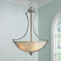Possini Euro Milbury 19 1 2 Wide Bowl Pendant Chandelier