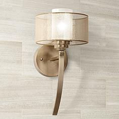 Bathroom Lighting Gold brass bathroom lighting & vanity lights | lamps plus