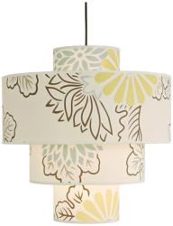 Rachel Simon Kimono Deco Pendant at LAMPS PLUS