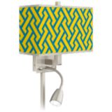 Giclee LED Reading Light Plug-In Sconce
