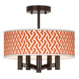 Ava 5-Light Bronze Ceiling Light