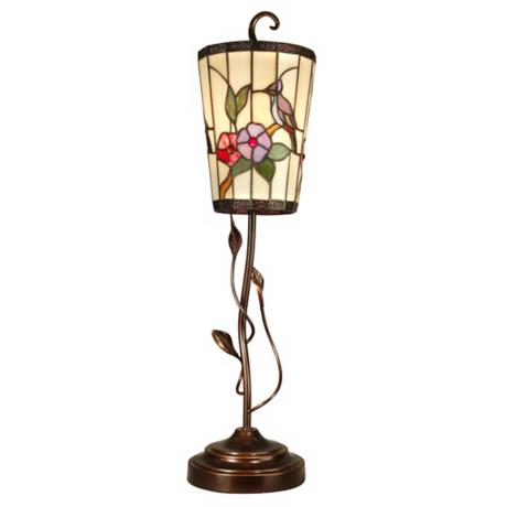 Read dale tiffany hummingbird lilly lamp