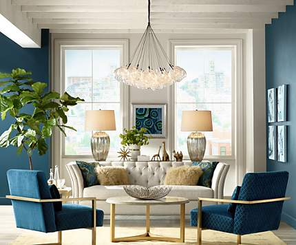 Living Room Lighting Ideas Unique Living Room Design Ideas & Room Inspiration  Lamps Plus Design Decoration