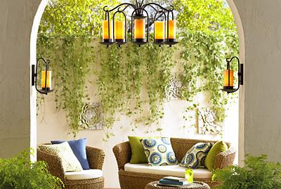Savvy style for your outdoor decor.