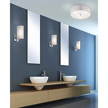 Bathroom Lighting, Bathroom, Contemporary - Lighting and Decor Ideas Shop by Room at Lamps Plus