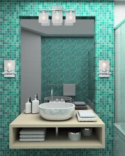 Teal bathroom decor.