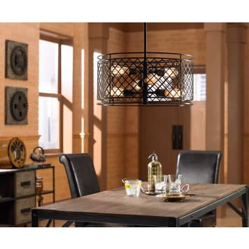 Lighting fixtures with Edison style bulbs offer rich, nostalgic style.