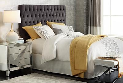 Suite dreams are made of this - and a super comfortable bed headboard.