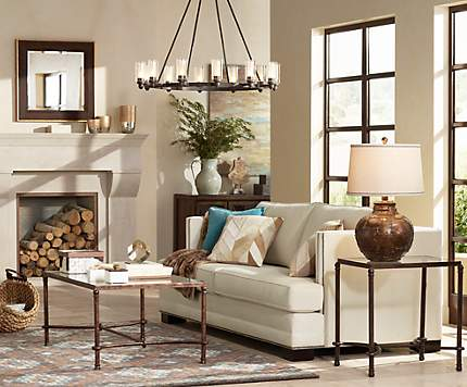 Living Room Design Ideas | Shop By Room | Lamps Plus