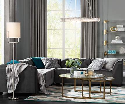 Stylish Living Rooms living room design ideas & room inspiration | lamps plus