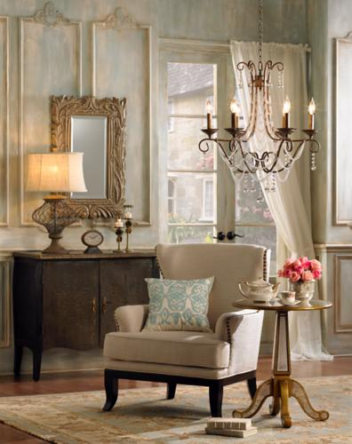 French refined design style for interiors