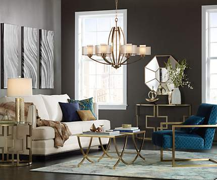 living room design ideas & room inspiration | lamps plus