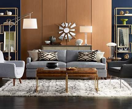 Modern Living Room Lamps living room design ideas & room inspiration | lamps plus