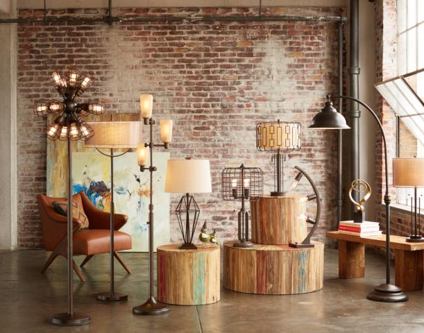 The many forms of industrial style floor lamps and table lamps. - The Many Forms Of Industrial Style Floor Lamps And Table Lamps