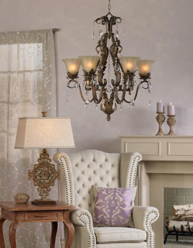 French country living room decorating.