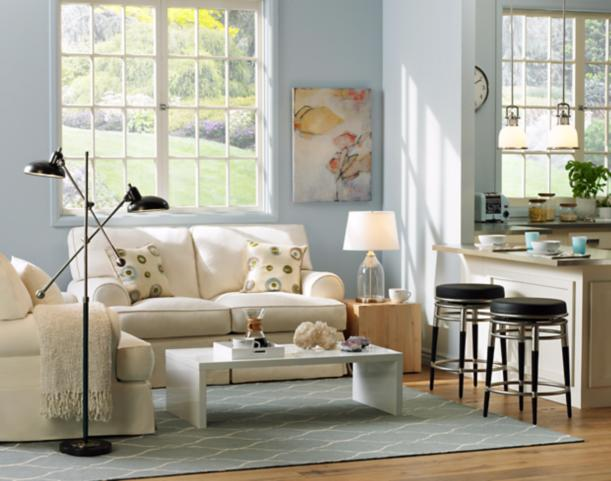 transitional style living room decor