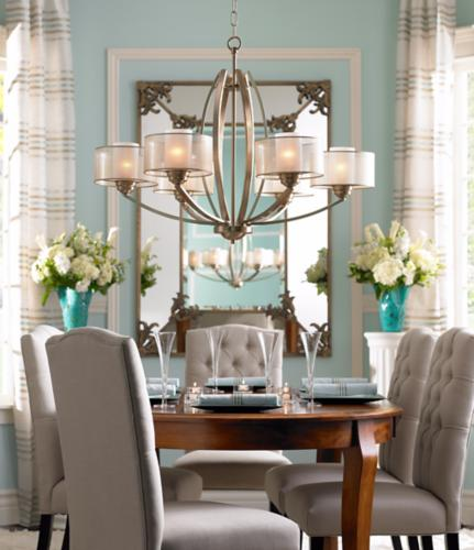 dining room lighting low ceilings | High drama and low profile merge effortlessly in this ...