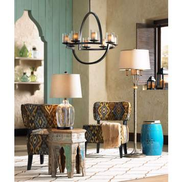 Bring the essence of faraway lands to your decor with Global Mix style.