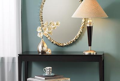 Aqua blue is a gorgeous color for a hallway!