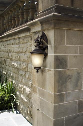 Free Your Inner Goth With This Dramatic Gargoyle Outdoor