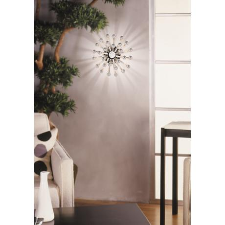 "Robert Abbey Anemone 13"" Wide Ceiling or Wall Light"