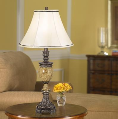 Traditional Lamp Shade Photo
