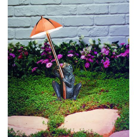 Whimsical Frog Landscape Light